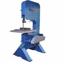 Vertical Bandsaw Machine Steel Body Fix Type