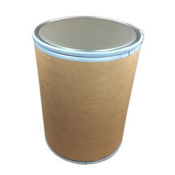 Brown Cylindrical Paper Drum, For Packaging, Capacity: 25 Kg