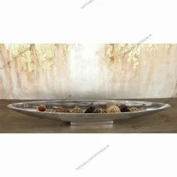 Metal Serving Designer Platter