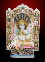 White Marble Padmawati Statue