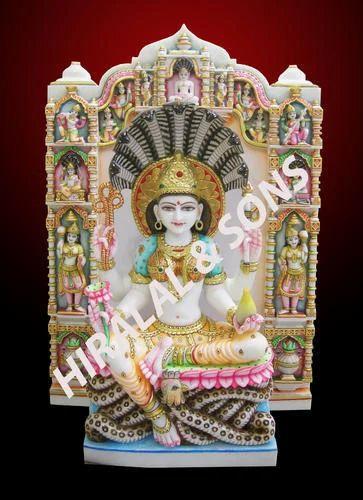 Padmawati Statues White Marble Padmawati Statue