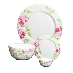 Crockery Planet Fine Bone China Dinner Set Of 20 Pcs