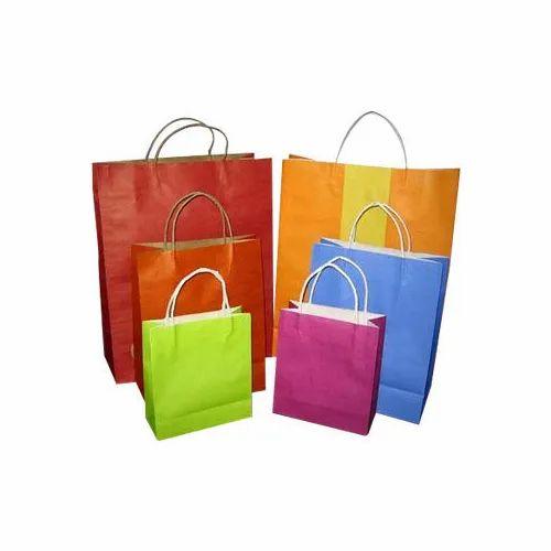 Colored Kraft Paper Bag