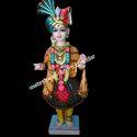 3 Feet Marble Swaminarayan Statue