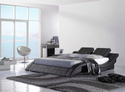Modern Leather Smart Bed