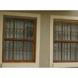 Standard Wooden Design Safety Window