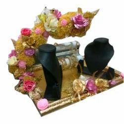 Engagement Ring Platter And Saree Packing Tray Manufacturer Vibha Creation Pune