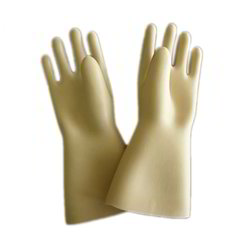 PVC Supported Double Deep Hand Gloves