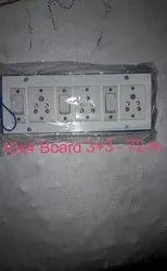 10 X 4 Electrical Switch Board, Module Size: 3+3