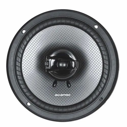 "Gray Baspro 6""-2way Coaxial Car Speaker"