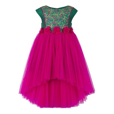 96e9fb697 3-4 To 7-8 Years Embroidery Girls Dresses