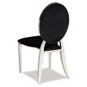 Modern Stainless Steel Banquet Chair