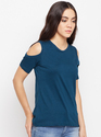 Ladies Shoulder Cut T-Shirt