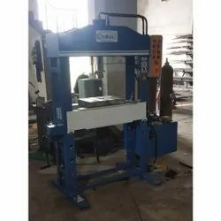 25 Ton Panel Operated H Type Hydraulic Press