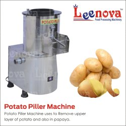 Leenova Potato Peeler  Machine