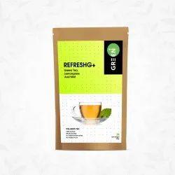 Budwhite Green+ Loose,Teabags Refreshing Herbal Green Tea