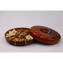 Kaju Pista Dry Fruit Wooden Box