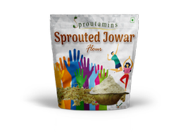 SPROUTAMINS Indian Sprouted Jowar Flour For Cooking, Packaging Size: 1 Kg