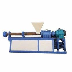 Horizontal Plastic Extrusion Machine