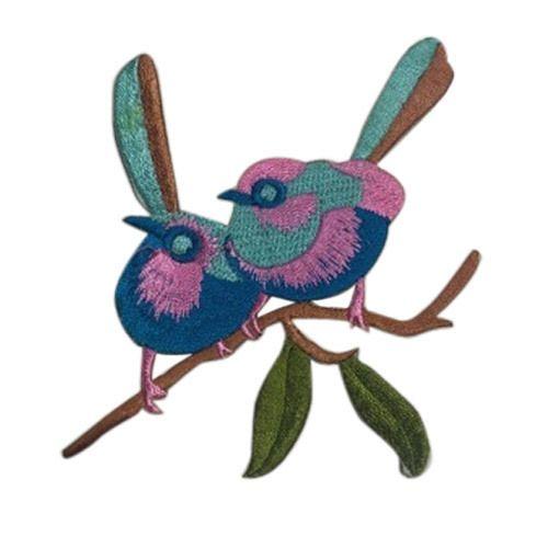 Birds Design Embroidery Patch At Rs 12 Piece Kadhai Ka Patch