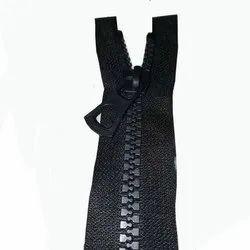 黑色Vislon袋拉链
