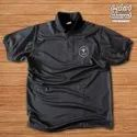 Male Polyester Dot Knit Dryfit T-shirt Silicon Washed