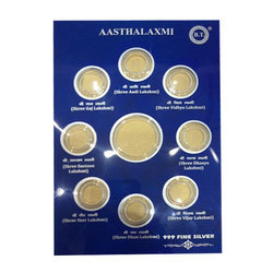 Silver and Gold Coin Card