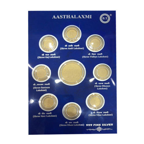 SLIVER GOLD COIN CARD - Gold and Silver Coins Card Pack