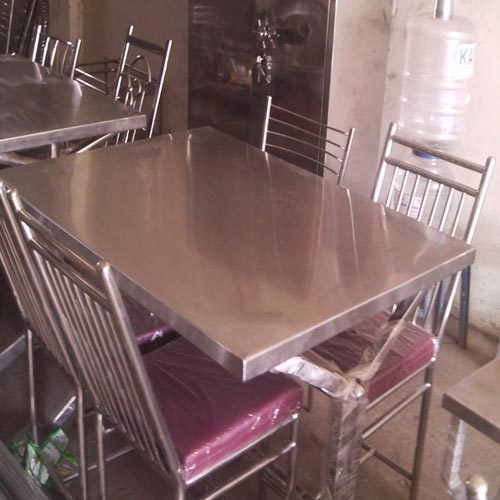 Stainless Steel Ss Dining Tables Precise Fabricators Id
