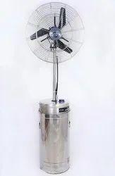 Steel Tank Pedestal Fan mist fan