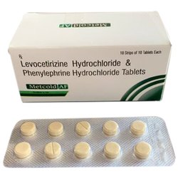 Levocetirizine Hydrochloride And Phenylephrine Hydrochloride Tablets