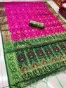 Pink Silk Weaving Saree With Blouse Piece