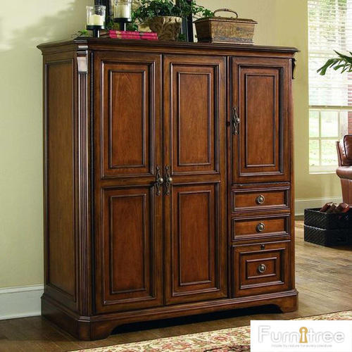 Furnitree Wooden Multi Utility Wardrobe, Warranty: More Than 5 Year, For Bedroom And Living