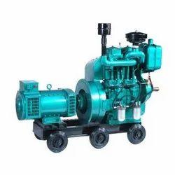 Diesel 5-10 Kw Single Phase Generator, For Industrial