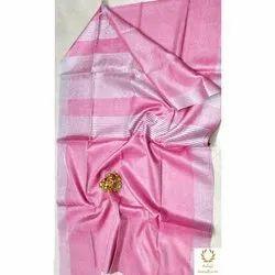 Balaji Handloom Wedding Wear Art Silk Saree, 0.8 M, 5.5 m (separate blouse piece)