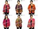 Megh Craft Cotton Banjara Style Embroidered Mirror Work Boho Jacket, Adult