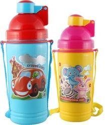 School Insulated Water Bottle Kool Neon 800