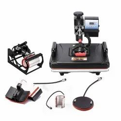 Combo Heat Press Machine - 5 in 1 (Black)