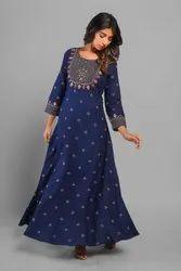 3/4th Sleeve Rayon Womens Clothing