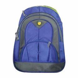 Blue, Black Students School Bag