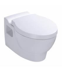 Kohler Vitreous China freelance wall hung toilet with quiet-close seat and cover