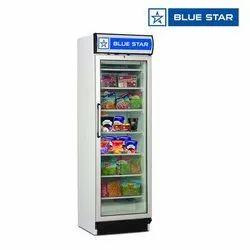 Blue Star VC375E 372 Ltrs Visi Freezer