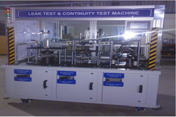 Leak Test And Continuity Testing Machine