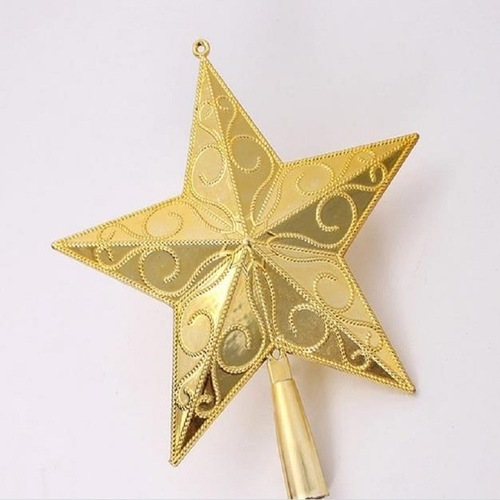 Star For A Christmas Tree: Christmas Tree Star, Size: 6 Inch, Rs 150 /piece, Sindh