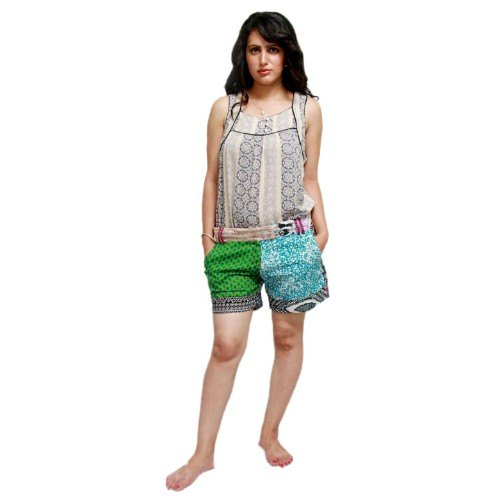 Induswelt Women's Short Pants (Patchwork) at Rs 430/piece | Ladies Short  Pants | ID: 20603954012