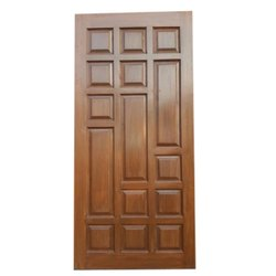 Hinged Exterior Ghana Teak Wood Door