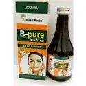 B Pure Mantra Blood Purifier Syrup