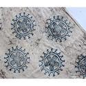 Indigo Jaipuri Batik Print Fabric