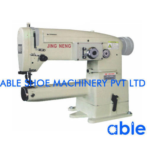 SemiAutomatic Cylinder Bed Zig Zag Shoe Binding Sewing Machine Rs Awesome Binding Sewing Machine