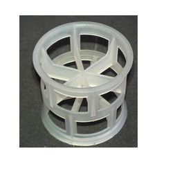 Plastic Fabricators White PP Pall Ring, Size: 1